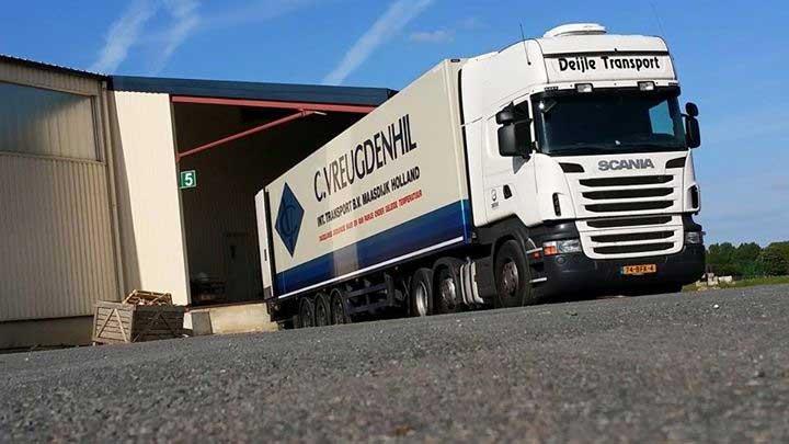 Deijle Transport, charteren van vrachtwagens. Trekker, oplegger en eventueel chauffeur.